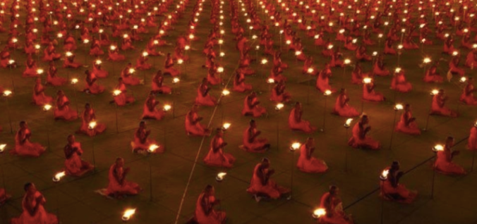 The Maharishi Effect, in which thousands of meditators gather in an attempt to spread peaceful, positive energy. The effect has shown in several cases to significantly reduce crime rates and incidences of violence in the vicinity of the gathering.