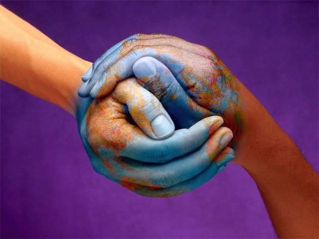 world hands