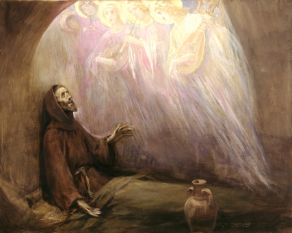 Visions of God or other religious beings have been recorded for centuries--new research shows that a strong imagination correlates with a higher likelihood of having these kinds of religious visions.