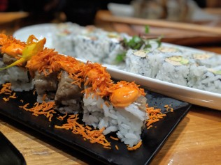 With food like this, from vegan sushi to vegan smores, its pretty easy to ditch the animal products these days.